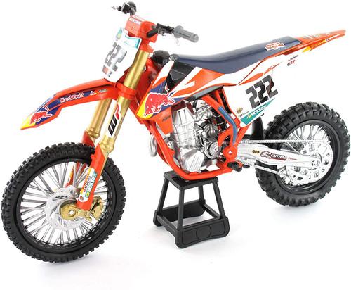 NewRay 1:10 Scale KTM450SXF MXGP Race Replica Tony Cairoli Dirt Bike Toy