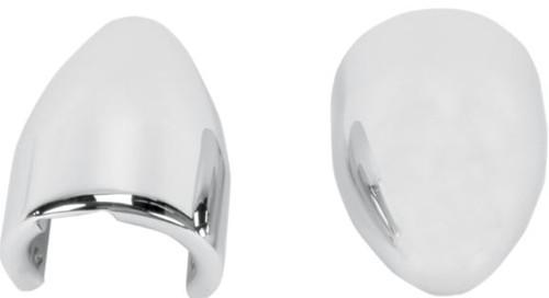 Baron Bullet Axle Nut Covers Chrome (BA-7800-02)