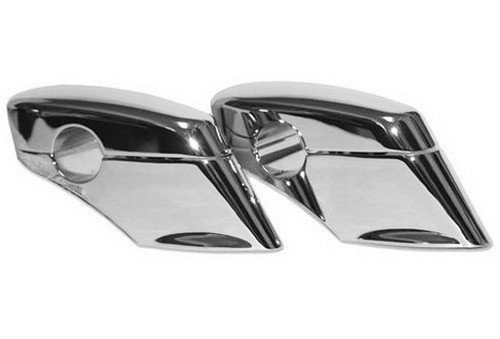 Baron Liner Pullback Risers Chrome (BA-7422-00)
