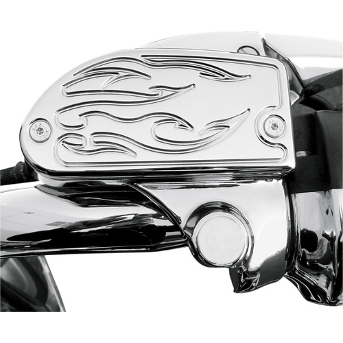 Baron Master Cylinder Covers Flame Chrome (BA-7629-03)