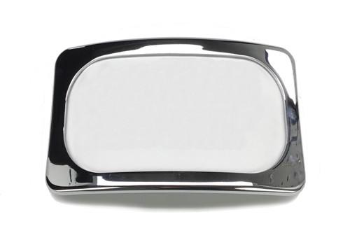 Baron Curved License Plate Kit Chrome (BA-3122-00)