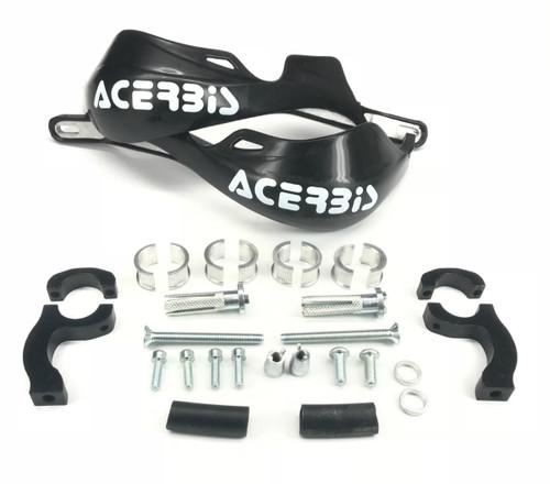Acerbis Rally Pro Handguards with Mount Kit Black (2142000001)