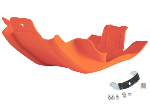 Acerbis MX Offroad Skid Plate Orange (2215040237)