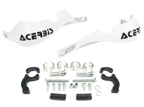 Acerbis Rally Pro Handguards with Mount Kit White (2142000002)