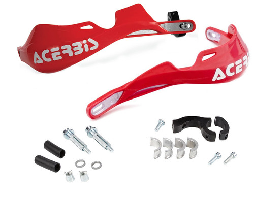 Acerbis Rally Pro Handguards with Mount Kit CR Red (2142000227)