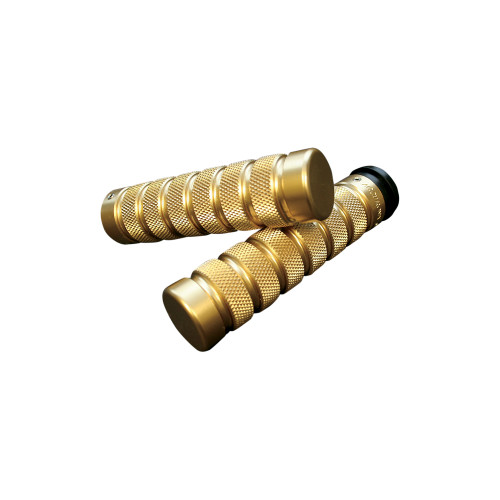 Accutronix Grips Knurled/Notch Brass (GR101-KN5)