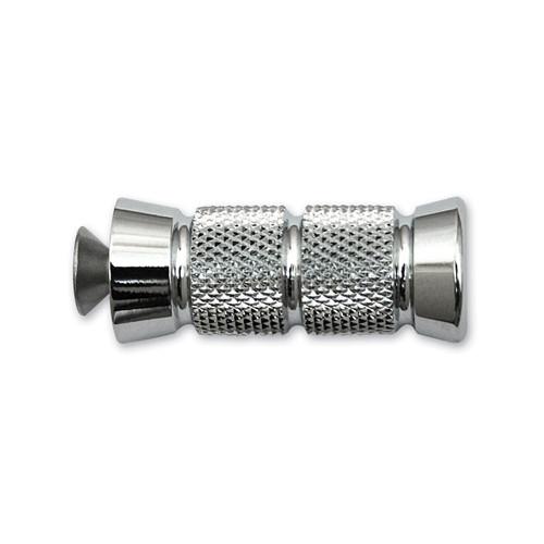 "Accutronix Knurled Shifter/Brake Peg Chrome 2 1/4"" L (PT220-KGC1)"