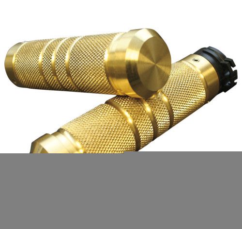 Accutronix Knurled/Grooved Brass Grips Cable Style (GR100-KG5)
