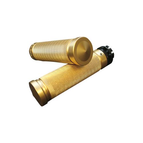 Accutronix Knurled Brass Grips (GR101-K5)