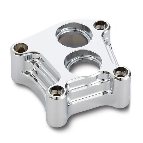 Arlen Ness 10-Gauge Billet Lifter Block Cover Set (pr) Chrome (12-572)