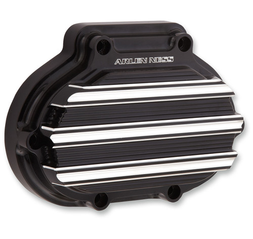 Arlen Ness 10-Gauge Billet Transmission Side Cover Black Anodized (03-813)