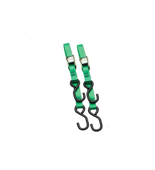"""Ancra 1"""" Standard Tie Downs Neon Lime/Green (40888-28)"""