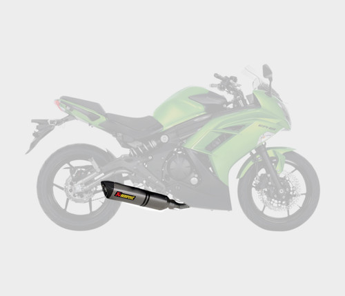 Akrapovic Hex Muffler Racing Exhaust System 2/1/1 Stainless/Ti (S-K6R7-HT)