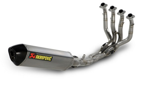 Akrapovic Evolution Exhaust w/Hex Muffler Ti/Carbon Tip 4/2/1/2 (S-Y10RFT10-ZC/2)