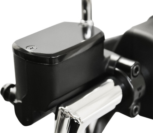 Baron Master Cylinder Covers Smooth Black (BA-7650-00B)