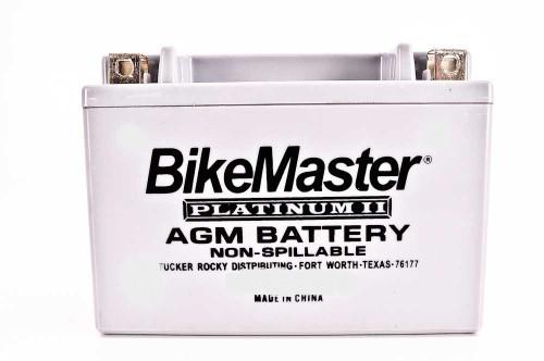 BikeMaster AGM Platinum II Battery 135 CCA 150L X 69W X 145H (HT14B-4-FA)