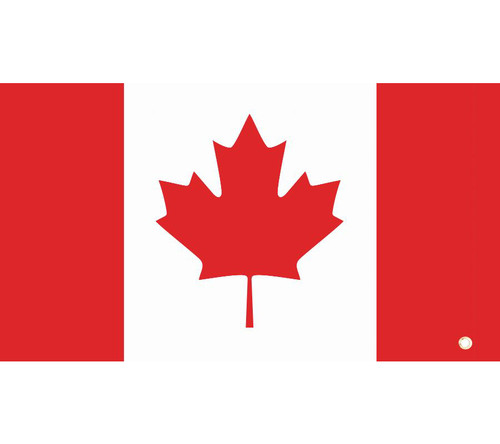 DragonFire Whip Flag w/Single Sided Print Canadian Flag (04-0100)