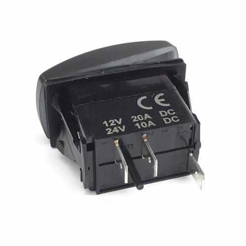 DragonFire Laser Etched LED Switch Finger/Rear Lights w/Red LED (04-0067)