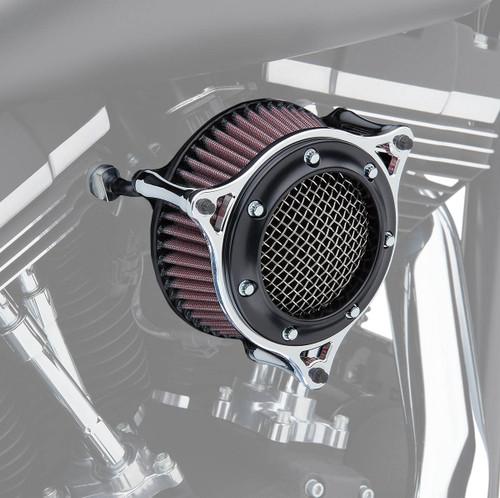 Cobra RPT Air Intake Black Ring w/Chrome Frame (606-0104-05BC)