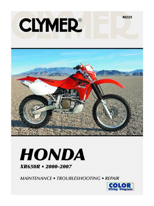 Clymer Repair/Service Manual '00-07 Honda XR650R (M225)