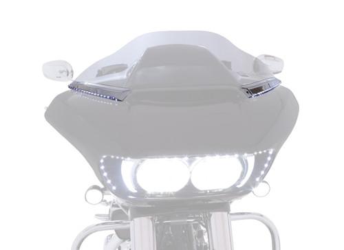 Ciro Horizon LED Windshield Trim Chrome (11050)