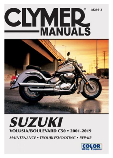 Clymer Repair/Service Manual '01-04 Suzuki Volusia/'05-19 Boulevard C50 (M260-3)