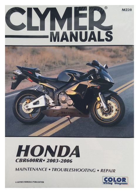 Clymer Repair/Service Manual '03-06 Honda CBR600RR (M220)