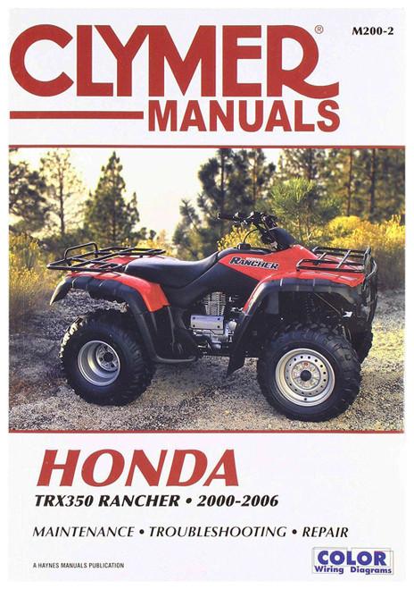 Clymer Repair/Service Manual '00-06 Honda TRX350 Fourtrax Rancher (M200-2)