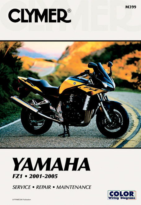 Clymer Repair/Service Manual '01-05 Yamaha FZS1000 & FZ1 (M399)