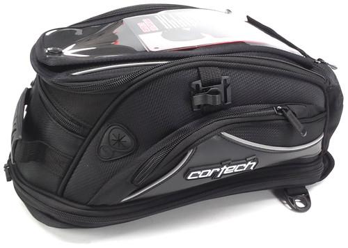 Cortech Super 2.0 18-Liter Tank Bag Magnetic Mount Black (8230-0505-18)