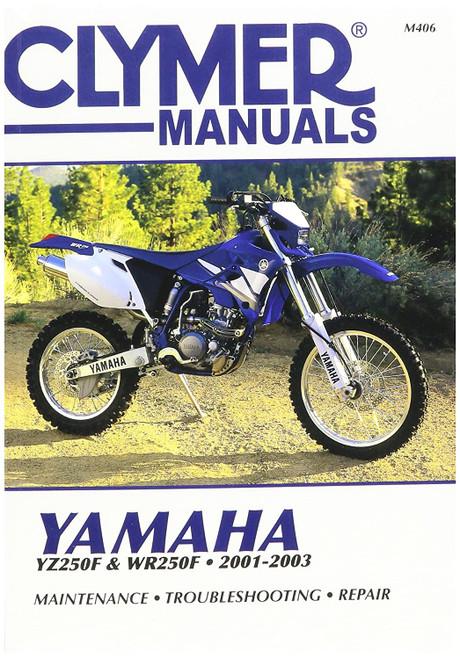 Clymer Repair/Service Manual '01-03 Yamaha YZ250F / WR250F (M406)