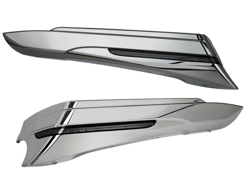 Ciro LED Saddlebag Extensions Chrome (40000)