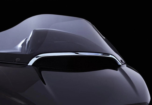Ciro Center Windshield Trim 2015+ Harley Road Glide Chrome (11052)