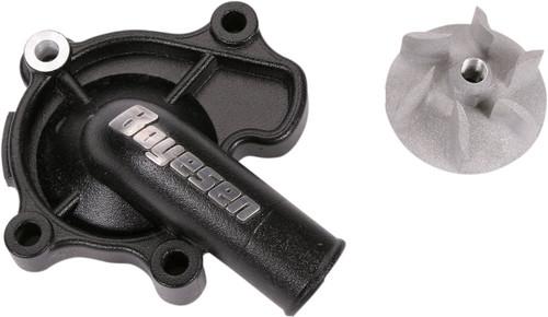 Boyesen Supercooler Water Pump Cover & Impeller Kit Black (WPK-07B)