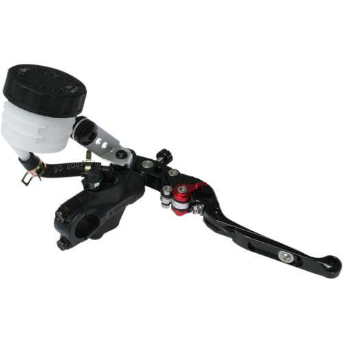Braking Front Brake Master Cylinder Black w/Black Lever 16mm Piston (MC6603)