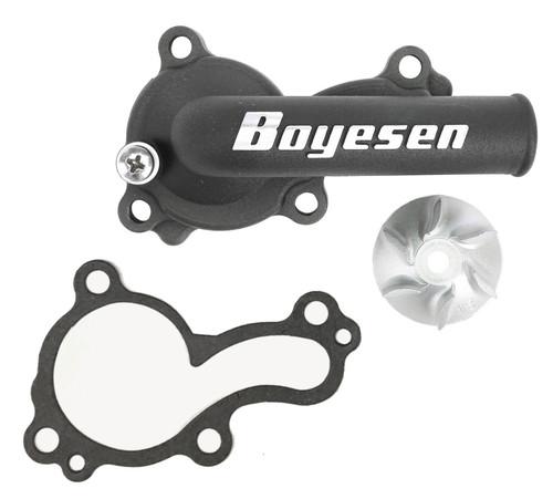 Boyesen Supercooler Water Pump Cover & Impeller Kit Black (WPK-18B)