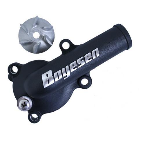 Boyesen Supercooler Water Pump Cover & Impeller Kit Black (WPK-18AB)