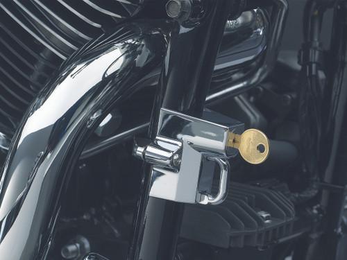 "Kuryakyn Tube Mounted Universal Helmet Lock 1 1/4"" - 1 1/2"" Tubes Chrome (4232)"