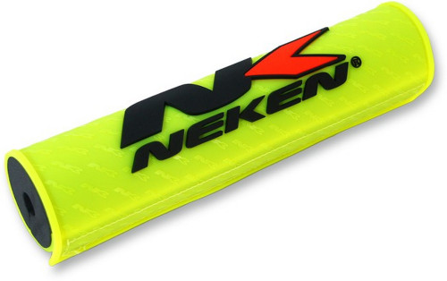 "Neken Regular Round Handlebar Pad Fluorescent Yellow 9.65"" (24.5mm) (PADCL-YEF)"