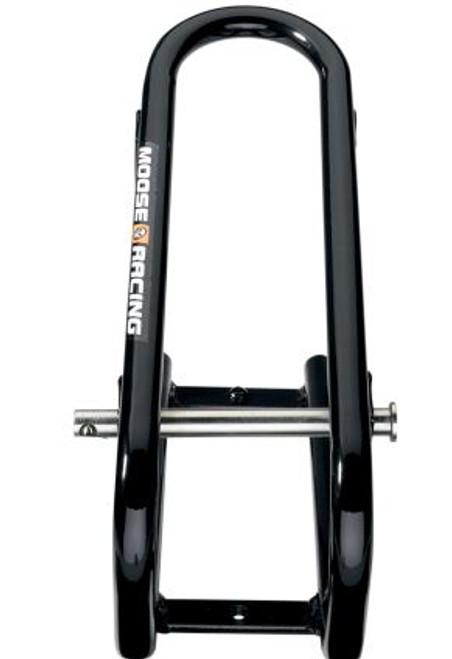 "Moose Racing Wheel Lock Chock With Pin 5.5"" Black (3911-0024)"