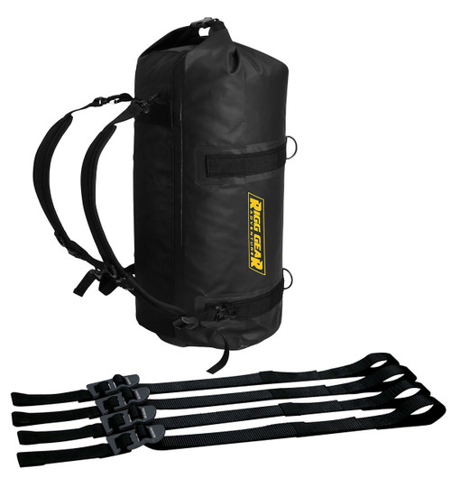 Nelson-Rigg Adventure Dry Roll 30L Waterproof Bag Black (SE-1030-BLK)