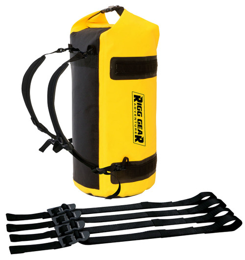 Nelson-Rigg Adventure Dry Roll 30L Waterproof Bag Yellow (SE-1030-YEL)