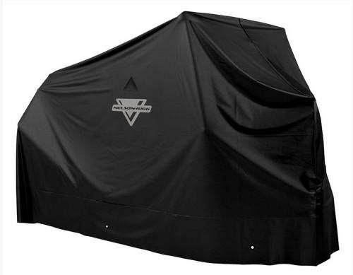 Nelson-Rigg Econo Waterproof Cover MC-900 Graphite Black LG (MC-900-03)