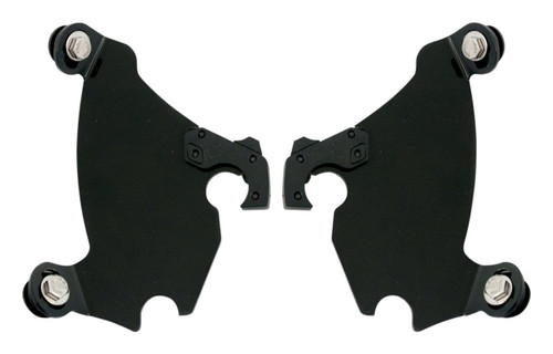 Memphis Shades Plates Only Kit for Gauntlet Fairings Black (MEB1884)
