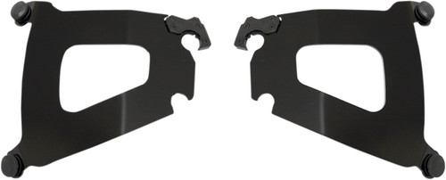 Memphis Shades Plate-Only Mounting Kit for Bullet Fairing Black (MEB1711)