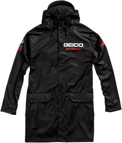 100% Geico Hooded Raincoat