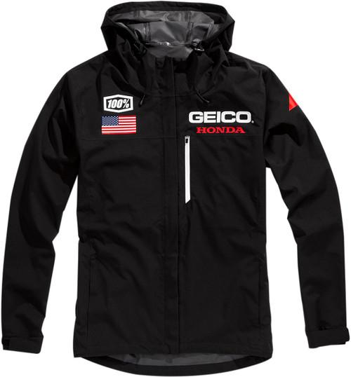 100% Geico Kappa Mens Hooded Jacket