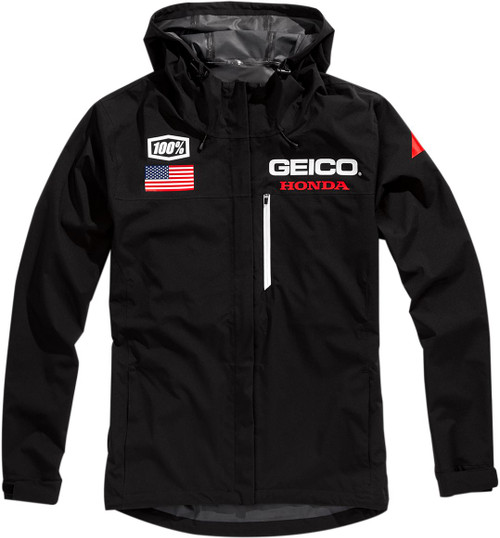 100% Geico Kappa Mens Hooded Jacket