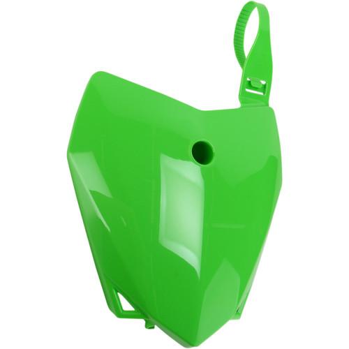 UFO Plastic Front Number Plate KX Green (KA04718-026)