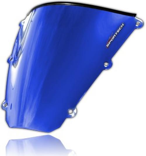 Sportech Classic Chrome Series Windscreen Blue Chrome (45491096)